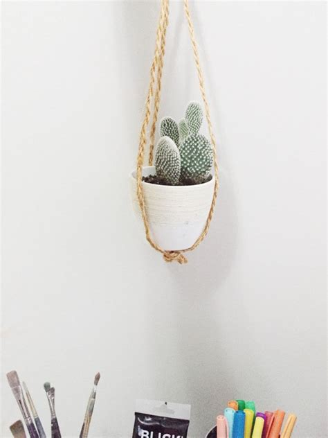 diy macrame plant hanger  effortless chic