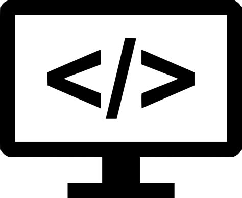 code coding programming svg png icon