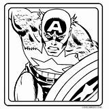 Captain Coloring America Pages Printable Shield Drawing Face Cool2bkids Clipartmag sketch template