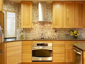 glass tile backsplash ideas pictures tips from hgtv hgtv With kitchen cabinet trends 2018 combined with world map wood wall art