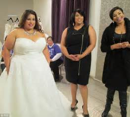 tlc wedding shows yukia walker reveals howshe was inspired to open curvaceous brides daily mail