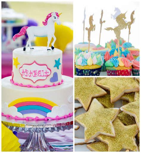 magical unicorn birthday party birthday party kara 39 s party ideas rainbow unicorn birthday party