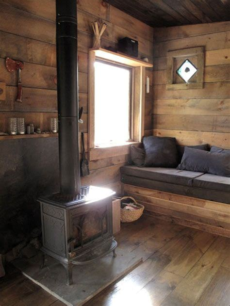 small wood burning stove for cabin best cabin living room smaller stove on simple slab