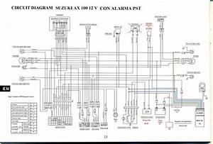 Suzuki Ax 100 Wiring Diagram