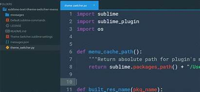 Sublime Theme Text Themes Switcher Menu Why