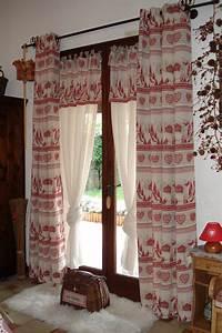 Decoration Pour Rideau : rideau decoration montagne ~ Melissatoandfro.com Idées de Décoration