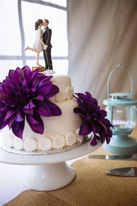 white  purple wedding cake  tiers