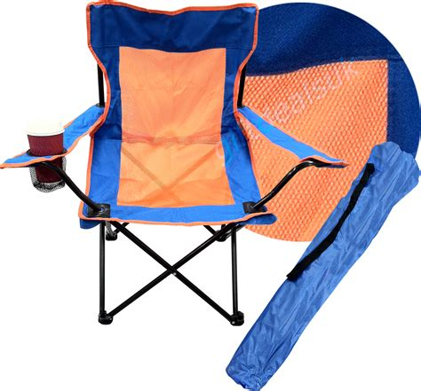 hd portable folding camping directors chair seat with cup