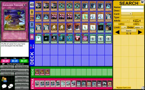 Dueling Network Deck Builder by Image Gallery Quasar Deck