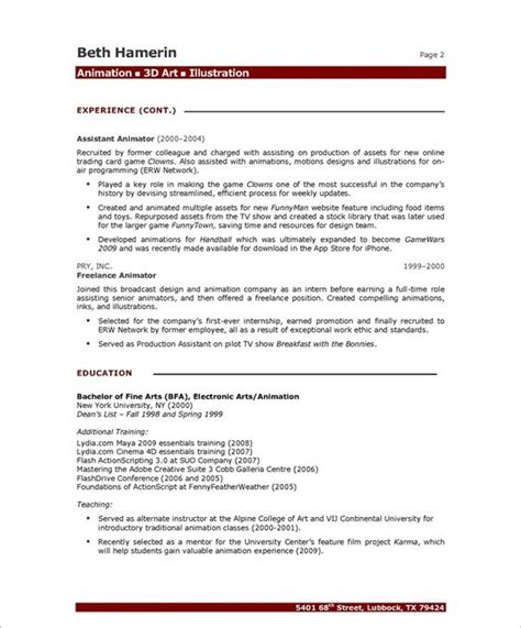 artist resume sles with high quality paper an artist