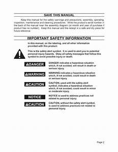 Tnt 15560 User Manual Air Compressor Manuals And Guides
