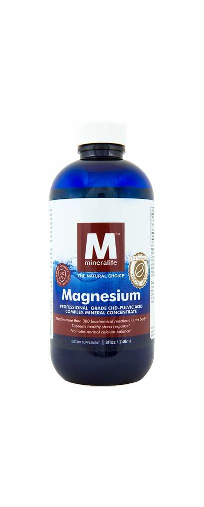 Coffee Flavored Oz Magnesium Supply Solution Being