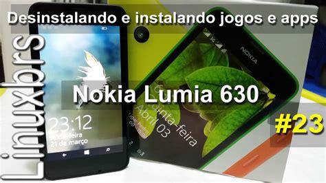 nokia lumia 630 wp 8 1 desinstala 231 227 o e instala 231 227 o de