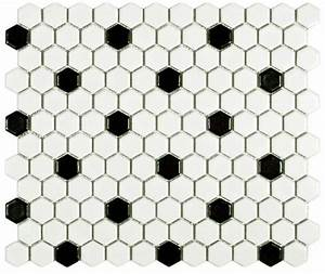Black and white hexagon tile floor wwwimgkidcom the for Black and white hexagon tile floor