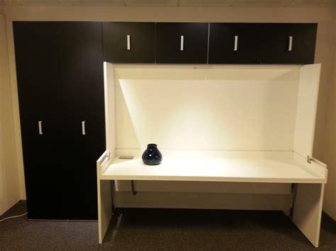 loft bed with bureaubed flat 2persoons boone met opzetkast en