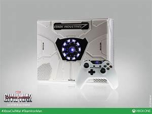Stark Industries Custom Xbox One Celebrates Civil War