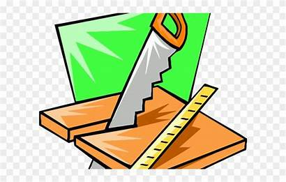 Clipart Woodworking Carpenter Chainsaw Carpentry Tool Clip