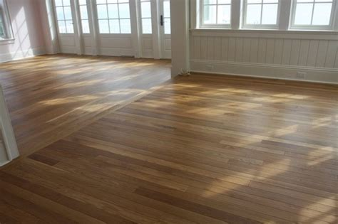 Hardwood Floors Different Colors Different Rooms Wide