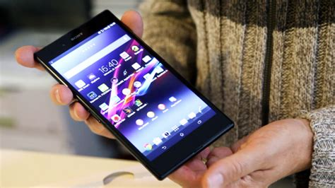 sony xperia  ultra unboxing im video computer bild