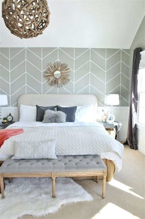 Bedroom Paint Ideas One Wall by Bedroom Wall Treatment Ideas Best Accent Designs On Paint