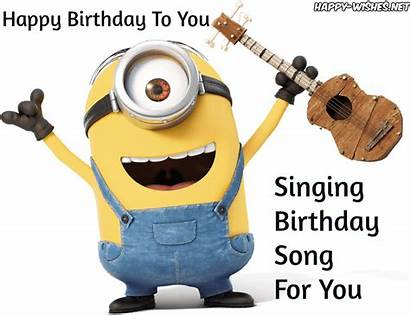 Minion Birthday Happy Singing