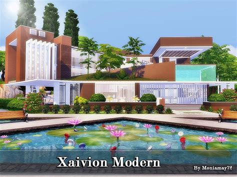 The sims 4 villa loilom fully furnished residential lot (40×30) designed by autaki available at the sims resource download villa loilom.medium house for yo. Moniamay72 • Sims 4 Houses - The Sims 4 - CC House ...
