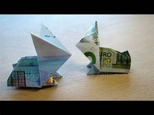 Geldscheine Falten Hasenohren : geldscheine falten osterhasen geldgeschenke basteln f r ostern geld falten hase origami ~ Orissabook.com Haus und Dekorationen