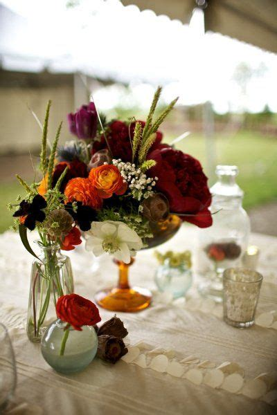 outdoor rustic colorado wedding floral ideas  wedding