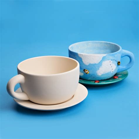 ceramic planter with saucer ceramic cup and saucer cup and saucer to paint ceramic