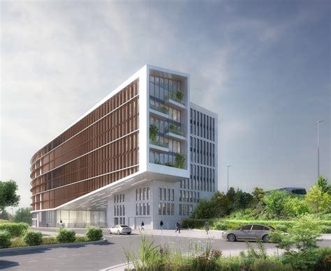 immeuble bureau construction d un immeuble de bureaux à fontenay sous bois