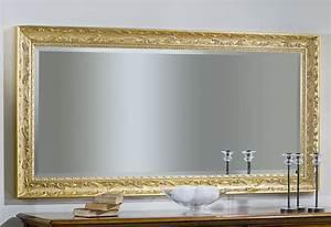 Miroir Cadre Bois : miroir cadre en bois finition la feuille made in italy ebay ~ Teatrodelosmanantiales.com Idées de Décoration