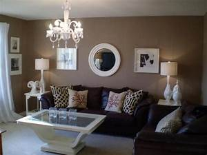 Ideas about living room brown on