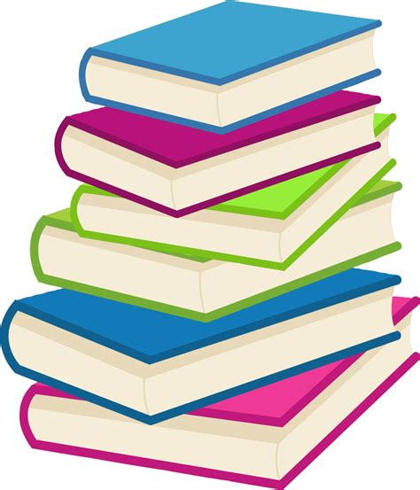 books clipart onlinelabels clip stack of books 2