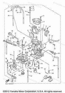 Yamaha Motorcycle 2003 Oem Parts Diagram For Carburetor