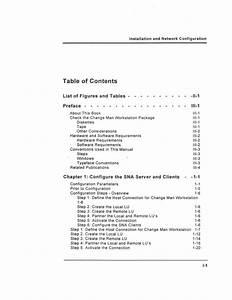 Technical Manual Book Template Design