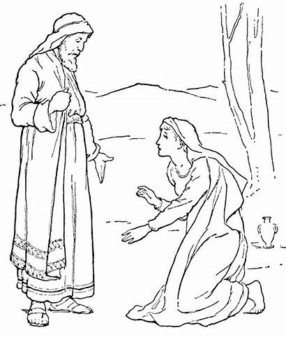 Bible Coloring Pages Jesus Printable Characters Forgiveness
