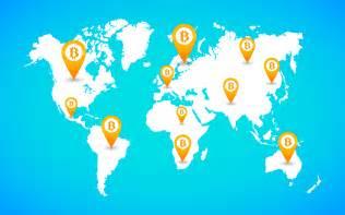 Bitcoin World Map