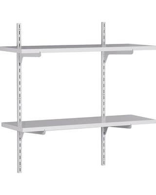 target wall mount shelf here s a great deal on closetmaid wall mounted adjustable
