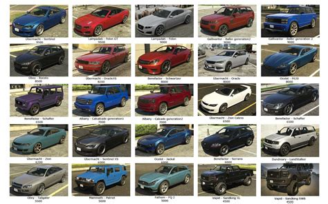 Visual Guide To Non-rare Gta Online Vehicles To Sell