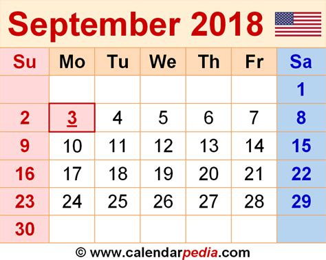 excel po template september 2018 calendar pdf 2018 calendar with holidays