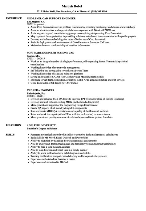 cad engineer resume cad designer resume delectable cad
