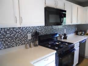 black glass tiles for kitchen backsplashes fresh glass tile backsplash ideas for small kitchen 2263