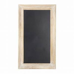 Tableau Du Monde : tableau ardoise noir 81 x 141 cm anjou maisons du monde ~ Teatrodelosmanantiales.com Idées de Décoration