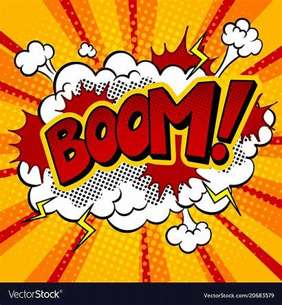 Pop Clipart Boom Comic Word Clipground