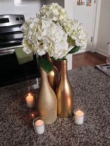 20 divine wine bottle centerpiece ideas that will impress you With what kind of paint to use on kitchen cabinets for vintage candle holders wedding