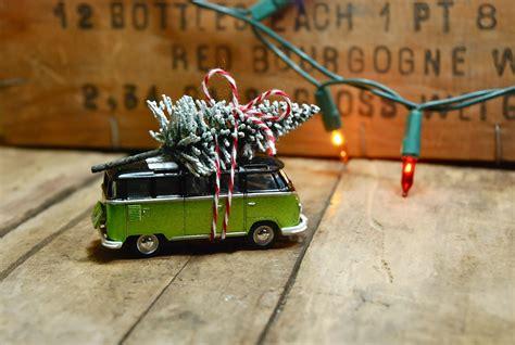fun easy diy ornament vintage toy car christmas tree