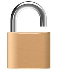 what is the lock symbol on my iphone lock the mac os x desktop via menu bar