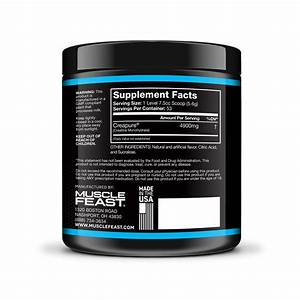 Muscle Feast Creapure Creatine Monohydrate Powder