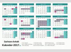 FERIEN SachsenAnhalt 2017 Ferienkalender & Übersicht