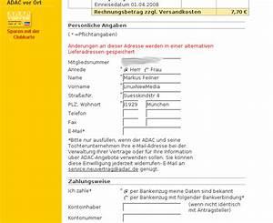 Auf Fremde Rechnung : millionen adac mitglieder von datenl cke auf adac webseite ~ Themetempest.com Abrechnung